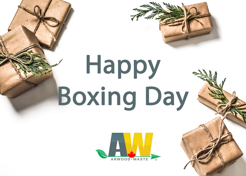 Happy Boxing Day from Arwood Waste